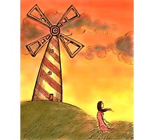 The windmill Photographic Print