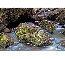 Silky Creek Photographic Print