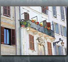 Patio & Shuttered Windows - Italy by ecannon11