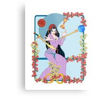 The Tarot Magician Metal Print