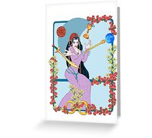 The Tarot Magician Greeting Card