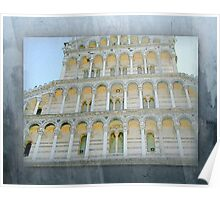 Columed Arched Facade - Italy Poster