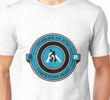 Brazilian Jiu Jitsu Competition Ready Triangle Choke Blue Unisex T-Shirt