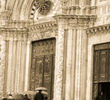 Friends at Siena Duomo  Sticker