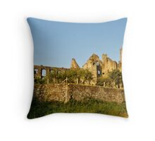 South Wingfield Manor Throw Pillow