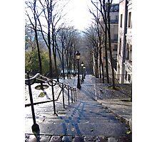 Autumn day in  Paris Photographic Print