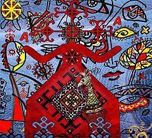 Mokos -Mokoš - goddess of fortune and destiny by Branko Jovanovic