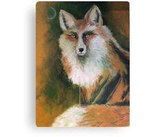Fox Moon Canvas Print