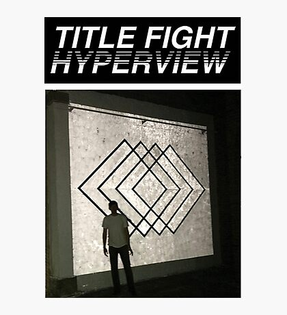 Title Fight Hyperview Album Cover Design Photographic Print