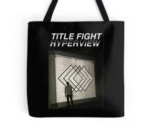 Title Fight Hyperview Album Cover Design Tote Bag