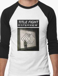Title Fight Hyperview Album Cover Design Men's Baseball ¾ T-Shirt