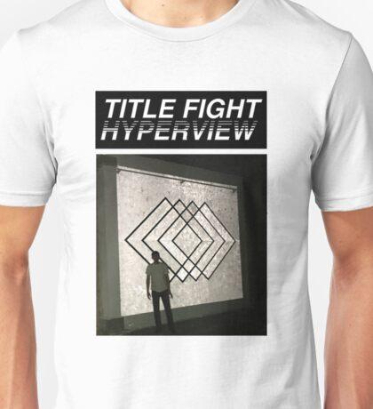 Title Fight Hyperview Album Cover Design Unisex T-Shirt
