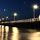 Busselton Jetty - Night by Richard Owen