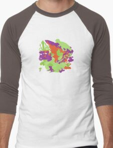 King Of Cosmos And Son: Intergalactic Movers Men's Baseball ¾ T-Shirt