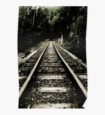 Ghostly Tracks Poster