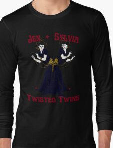Twisted Victorian Twins Long Sleeve T-Shirt