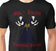 Twisted Victorian Twins Unisex T-Shirt