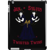 Twisted Victorian Twins iPad Case/Skin