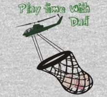 Play time with Dad One Piece - Long Sleeve