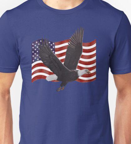 American Bald Eagle Flag  Unisex T-Shirt