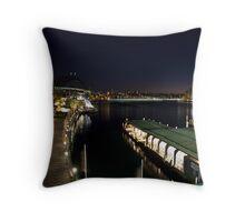 Circular Quay Pre Dawn Throw Pillow