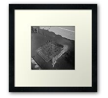 Manchester Unity Building, reflected Framed Print