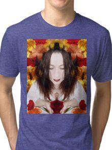 Vie en fleurs Tri-blend T-Shirt