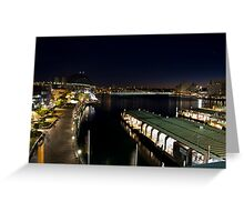 Circular Quay Pre Dawn Greeting Card