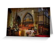 The Organ ~ St Saviour's Cathedral ~ Goulburn NSW Greeting Card
