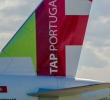 Air Portugal (TAP) Airbus A320 tail livery Sticker