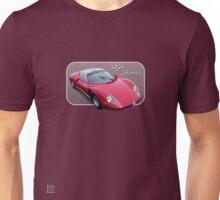 1967 Alfa Romeo Stradale 33 - Art on Wheels Unisex T-Shirt