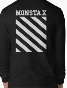 Monsta X Off-White Inspired Logo Long Sleeve T-Shirt