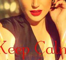Keep Calm, It's Lana Sticker
