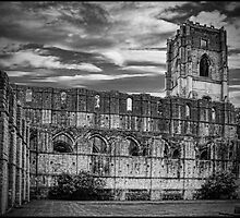 Fountains Abbey by Peter Ackers