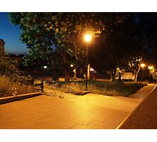 Night scene of the city Photographic Print