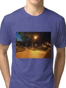 Night scene of the city Tri-blend T-Shirt