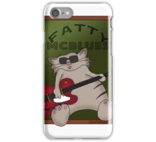 Fatty McBlues iPhone Case/Skin