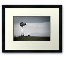 Rural Victoria - solitude Framed Print
