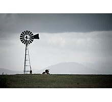 Rural Victoria - solitude Photographic Print