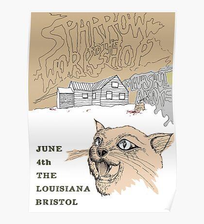 Sparrow & The Workshop Gig Poster Poster