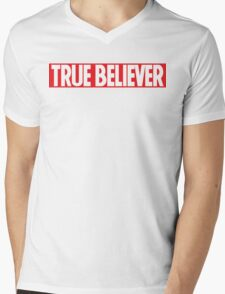True Believer Mens V-Neck T-Shirt