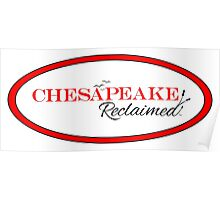 Chesapeake Reclaimed Poster