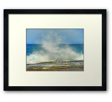 Splash! Framed Print
