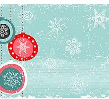 Xmas card by Anastasiia Kucherenko
