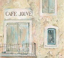 Café Jouve, Aurel, France by ian osborne