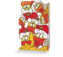 Santa Quackers Greeting Card