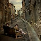 Sitting in Arles by bchamp