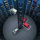 Urban Car Park Interior by Atanas Bozhikov Nasko