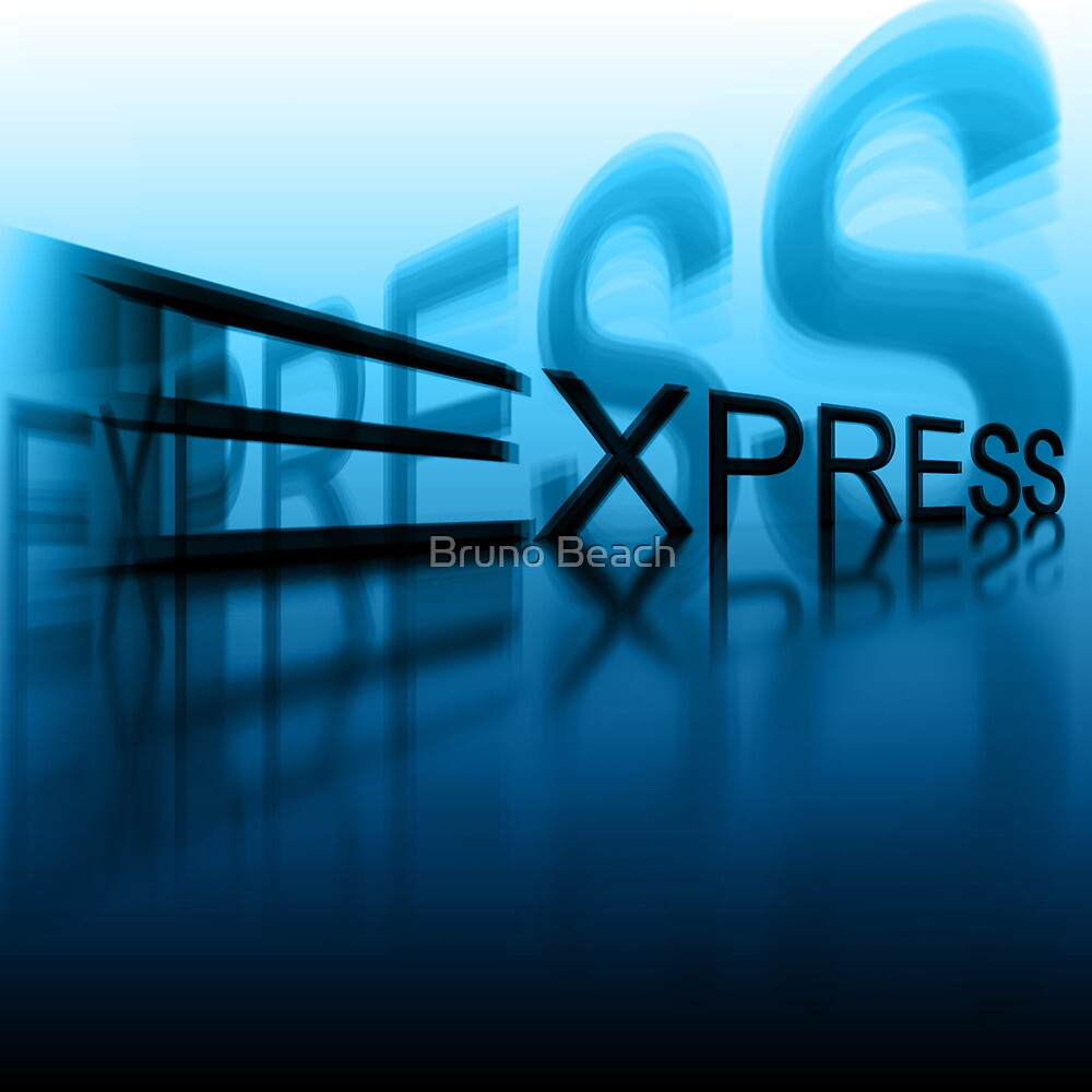Express - Photoshop Render by me by Digital Editor .