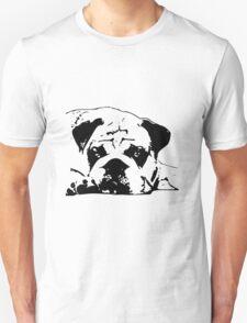 sad dog Unisex T-Shirt